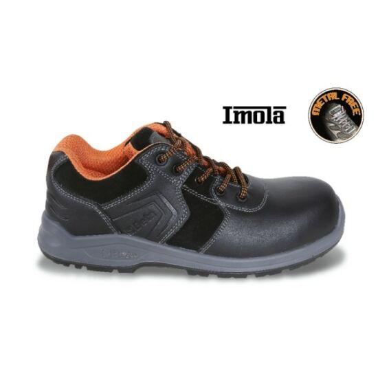 Beta 7200PN/35 full-grain bőr munkavédelmi cipő, mérsékelten vízálló, mérsékelten vízálló hasítottbőr betétekkel